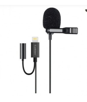 Микрофон Earldom ET-E40 разъем 8pin Lightning с зажимом