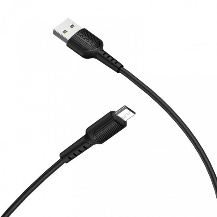 КаБель Micro Usb BoroFone BX16 Easy Charging (1м)