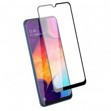 Защитное стекло Huawei Honor 9C / P40 Lite / P40 Lite E / Y7P Полный экран (Черное)