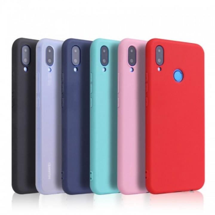 Крышка Honor 9C/ P40 Lite E / Y7p Soft Touch New