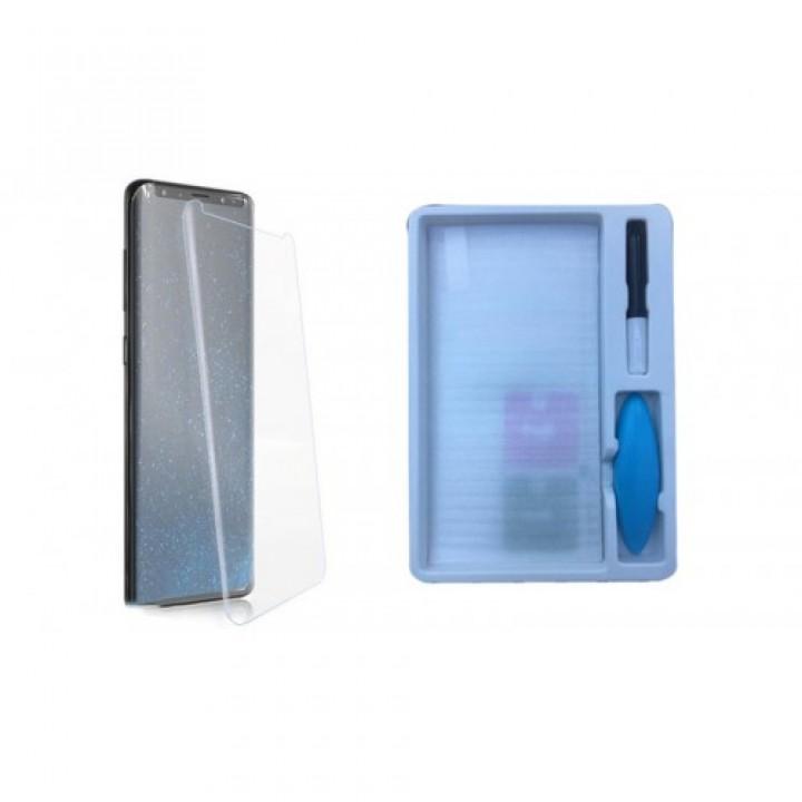 Защитное стекло Samsung Galaxy S20 Plus Жидкое стекло с УФ лампой