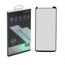 Защитное стекло Samsung Note 10 Plus (N975f) Антишпион с наноклеем