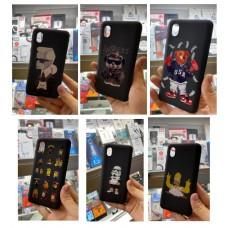 Крышка Xiaomi RedMi Note 8T Paik Матовая с рисунком