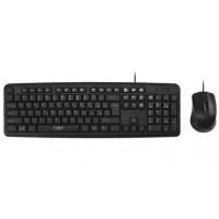Комплект клав.+мышь проводной CBR Kb Set 710