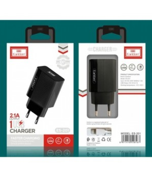 Сетевое Зарядное Устройство Earldom Micro Usb ES-201M (2,1A)