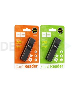 Кард-ридер Hoco HB20 Mindful 2 in 1Card Reader USB 3.0