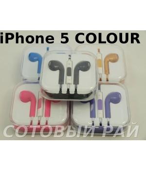 Гарнитура EuroPods iPhone 5 Colour Originals
