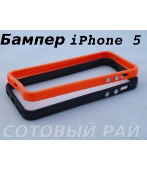 Бампер iPhone 5/5S Пластик