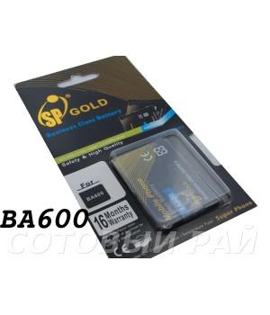 Аккумулятор Sony BA600 Xperia U , ST25i (1290mAh) SP Gold