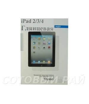 Защитная пленка Apple iPad 2/3/4 Deppa Глянцевая