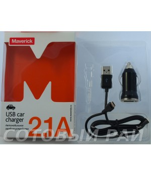 АЗУ Maverick Micro Usb (2,1 A)