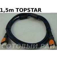 КаБель HDMI - HDMI (1,5 метра) Topstar