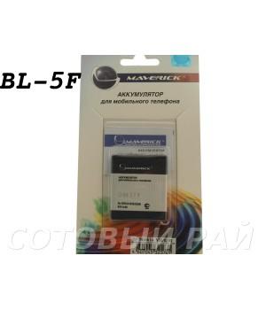 Аккумулятор Nokia BL-5F N95 , E65 , N93i , N96 , N78 (950mAh) Maverick