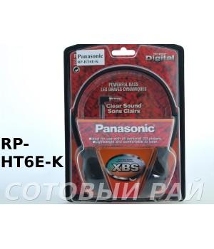 Наушники полноразмерные Panasonic RP-HT6E-K
