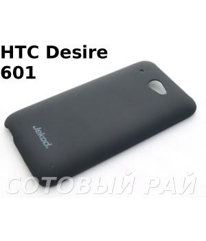 Крышка HTC Desire 601 (Zara) Jekod пластик Черная