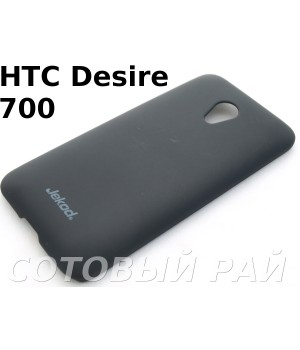Крышка HTC Desire 700 (7088/7060) Jekod пластик Черная