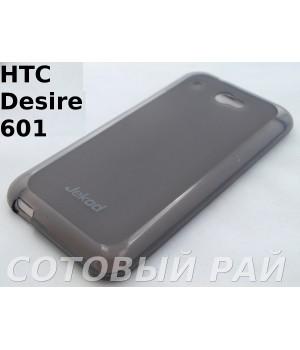 Крышка HTC Desire 601 (Zara) Jekod силикон (Серая)