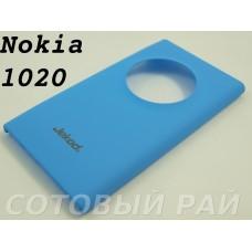 Крышка Nokia 1020 Lumia Jekod пластик (ГолуБая)