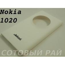 Крышка Nokia 1020 Lumia Jekod пластик (Белая)