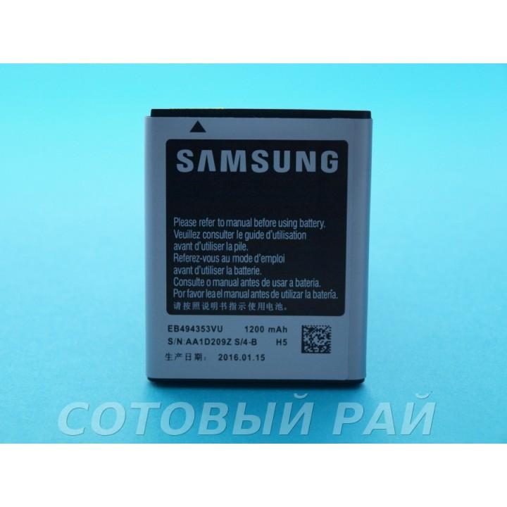 Аккумулятор Samsung EB424255VU S3850 , s3350 , s3770 , s5220 (1000mAh) Original