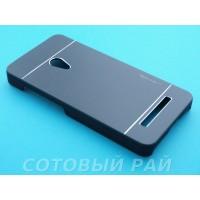 Крышка Asus Zenfone 5 (A500KL) Motomo (Черная)