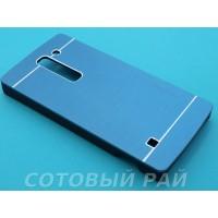 Крышка LG Spirit (H422) Motomo (Синяя)