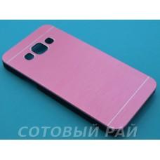 Крышка Samsung A300f (A3) Motomo (Розовая)