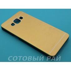 Крышка Samsung A500f (A5) Motomo (Золотая)