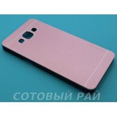 Крышка Samsung A500f (A5) Motomo (Розовая)