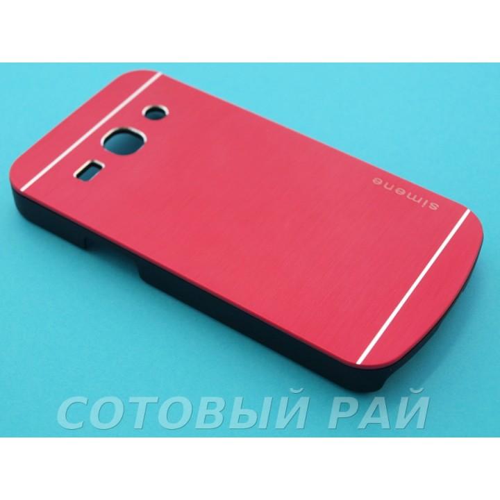 Крышка Samsung G350e (Star Advance) Motomo (Красная)