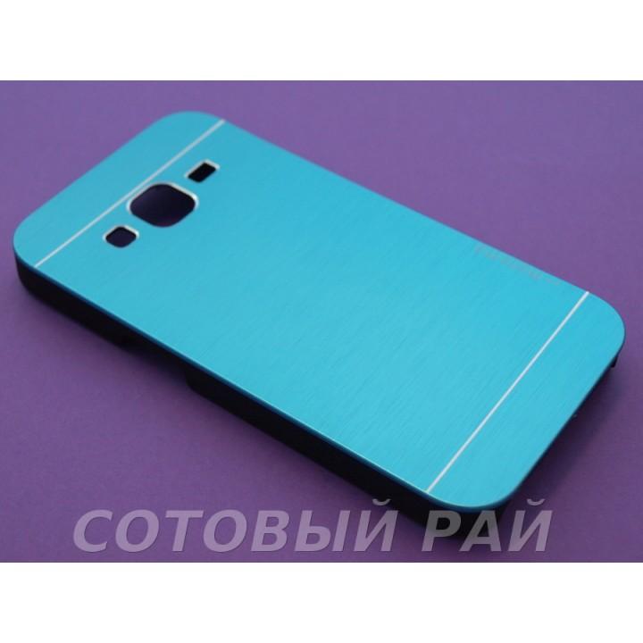 Крышка Samsung G360 (Core Prime) Motomo (Синяя)