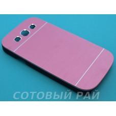 Крышка Samsung i9300 (S3) Motomo (Розовая)