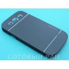 Крышка Samsung i9300 (S3) Motomo (Черная)