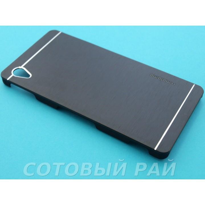 Крышка Sony Xperia M4 Aqua (E2306) Motomo (Черная)