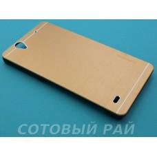 Крышка Sony Xperia C4 (E5303) Motomo (Золотая)