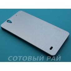 Крышка Sony Xperia C4 (E5303) Motomo (СереБряная)