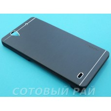 Крышка Sony Xperia C4 (E5303) Motomo (Черная)
