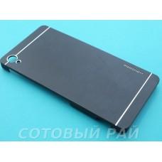 Крышка Sony Xperia Z3 (D6633) Motomo (Черная)