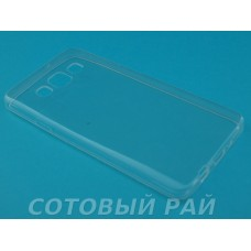 Крышка Samsung A300f (A3) Силикон TPU (Прозрачная)