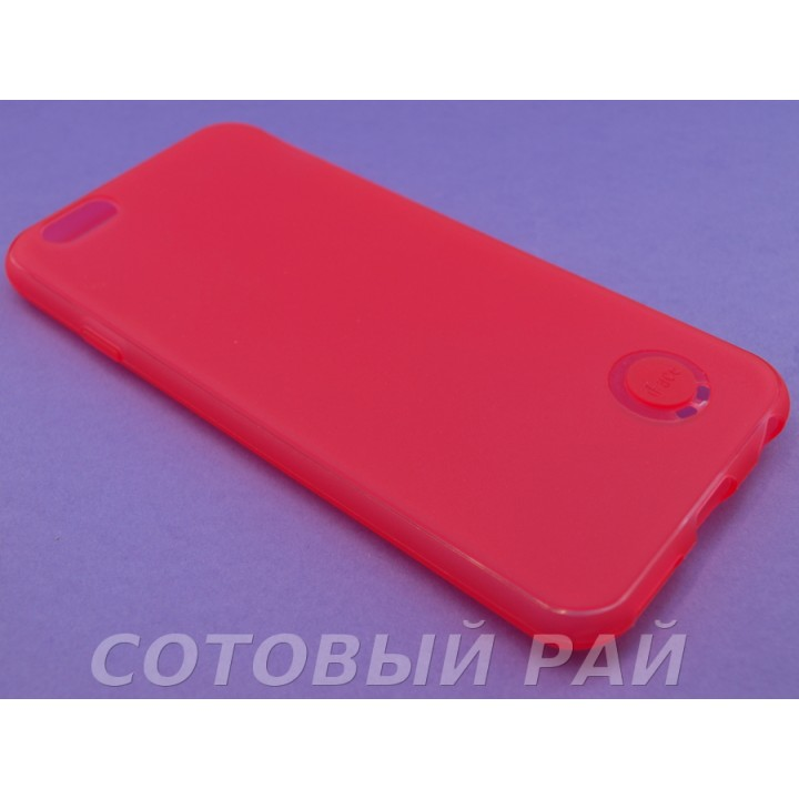 Крышка Apple iPhone 6 / 6s Силикон iFace с отверстием (Красный)