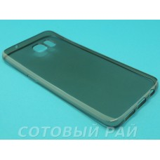 Крышка Samsung G935f (S7 Edge) Силикон Paik Thin (Черный)