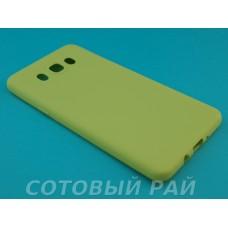 Крышка Samsung J710f (J7-2016) Силикон TPU (Желтая)