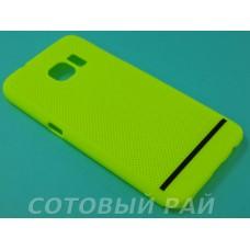Крышка Samsung G930f (Galaxy S7) Paik Сеточка (Желтая)
