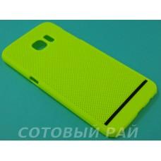 Крышка Samsung G935f (S7 Edge) Paik Сеточка (Желтая)