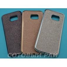 Крышка Samsung G935f (S7 Edge) Блеск + металл окантовка