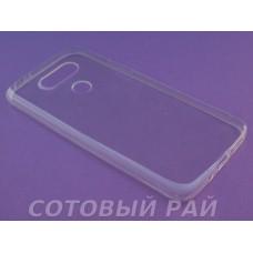 Крышка LG G5 (H845) Just Slim силикон (Прозрачная)