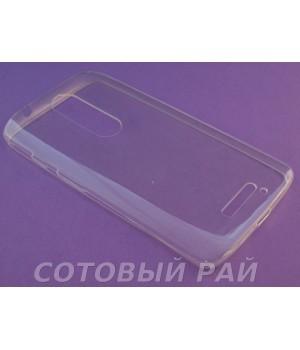 Крышка Motorola X Play Just Slim Силикон (Прозрачная)