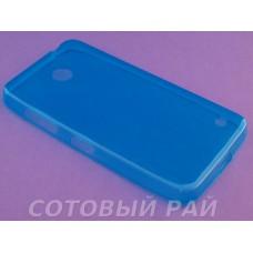 Крышка Nokia 630,635,636 Lumia Just Slim силикон (ГолуБая)