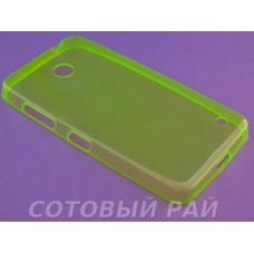 Крышка Nokia 630,635,636 Lumia Just Slim силикон (Зеленая)