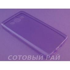 Крышка Samsung A300f (A3) Just Slim Силикон (Фиолетовая)